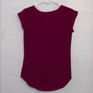 Express Tops - Dark pink express blouse